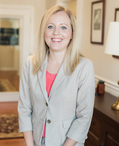 A headshot of Sarah Gable of Rodier Family Law in Harford County, Maryland.